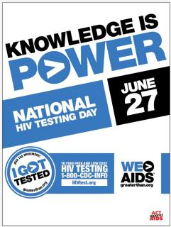 CDC National HIV-Testing Day
