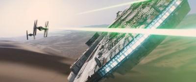 SWVII Millenium Falcon Dogfight