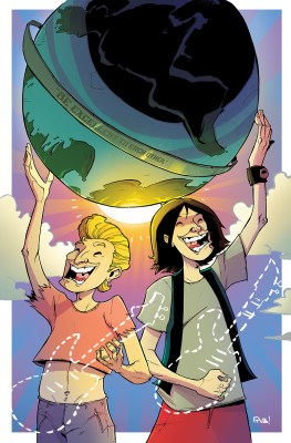 Bill & Ted #1 10K Variant Cover by Rob Guillory