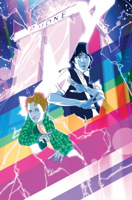 Bill & Ted #1 Variant Cover by Goñi Montes