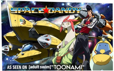 Space Dandy Banner
