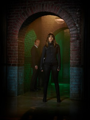 "MARVEL'S AGENTS OF S.H.I.E.L.D. - ABC's ""Marvel's Agents of S.H.I.E.L.D."" stars Clark Gregg as Agent Phil Coulson and Chloe Bennet as Skye. (ABC/Florian Schneider)"