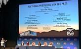 Ask the pros: Ian Bryce, Tracey Edmonds, John Neisen, Stu Levy, Gary Luchessi, Lori McCreary; Moderator Vance Van Petten