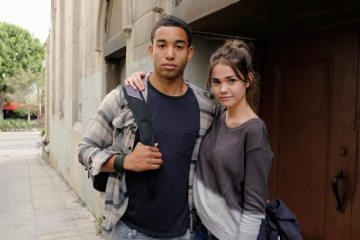"THE FOSTERS - ""Wreckage"" - In the season premiere, summer has brought many changes for the Adams Foster family. (ABC Family/Tony Rivetti) TOM WILLIAMSON, MAIA MITCHELL"