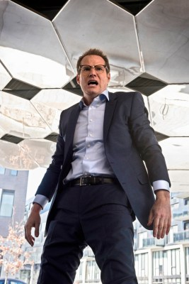 "HEROES REBORN -- ""Awakening"" Episode 101 -- Pictured: Jack Coleman as HRG/Noah Bennett -- (Photo by: Christos Kalohoridis/NBC)"