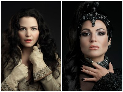 "ONCE UPON A TIME - ABC's ""Once Upon a Time"" stars Ginnifer Goodwin as Snow White/Mary Margaret and Lana Parrilla as Evil Queen/Regina. (ABC/Bob D'Amico)"