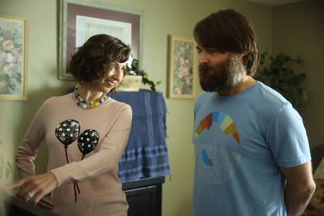 """THE LAST MAN ON EARTH:  Carol (Kristen Schaal, L) and Phil (Will Forte, R) in the """"Is Anybody Out There?"""" season two premiere episode of THE LAST MAN ON EARTH airing Sunday, Sept. 27 (9:30-10:00 PM ET/PT) on FOX.  ©2015 Fox Broadcasting Co.  Cr:  Jordin Althaus/FOX"""