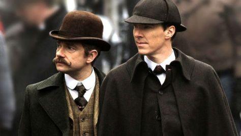 Sherlock - Deerstalker and Handlebar Mustache
