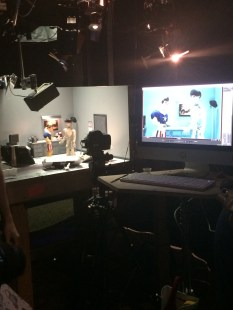 Welcome to the interplay of puppet and camera