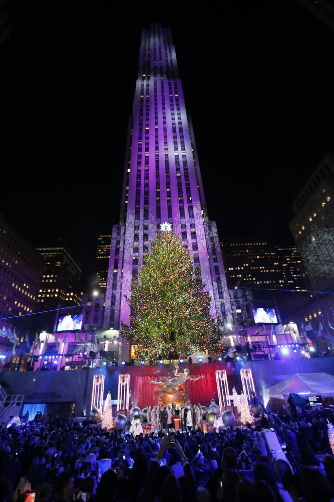 CHRISTMAS IN ROCKEFELLER CENTER -- Pictured 86th Annual Christmas In Rockefeller Center -- & Christmas In Rockefeller Center Lights Up NBC! | EclipseMagazine
