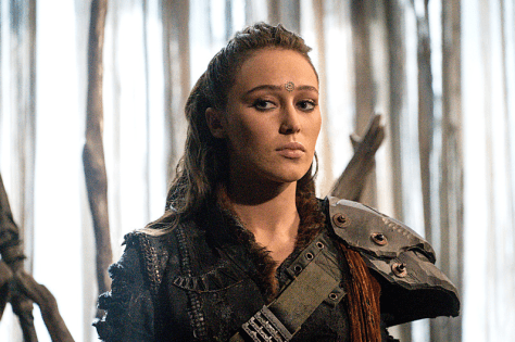 Alycia Debnam-Carey as Lexa -- Credit: Liane Hentscher/The CW -- © 2016 The CW Network, LLC. All Rights Reserved