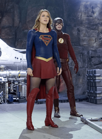 Supergirl - Supergirl & Flash