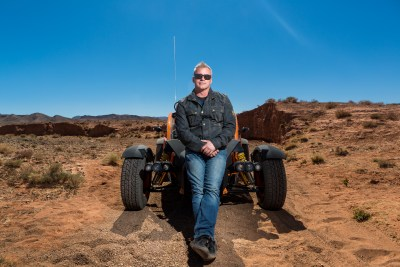 EMBARGOED UNTIL 20:00 GMT ON SUNDAY APRIL 24TH 2016 Picture Shows: Matt LeBlanc and the Ariel Nomad in Morocco