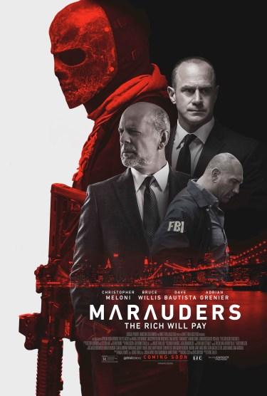 MARAUDERS final poster