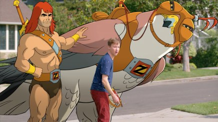 SON OF ZORN: L-R:  Zorn (voiced by Jason Sudeikis) and Johnny Pemberton in SON OF ZORN coming soon to FOX. ©2016 Fox Broadcasting Co. Cr: FOX