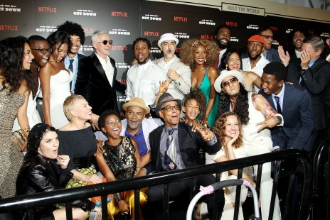 """-  New York, NY - 8/11/16 - The Official Premiere of the Netflix Original Series """"The Get Down"""" -Pictured: Cast and Filmmakers of The Get Down -Photo by: Patrick Lewis/Netflix"""
