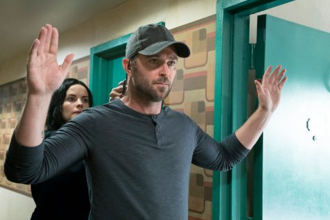 "BLINDSPOT -- ""In Night So Ransomed Rogue"" Episode 201 -- Pictured: (l-r) Jaimie Alexander as Jane Doe, Sullivan Stapleton as Kurt Weller -- (Photo by: Virginia Sherwood/NBC)"