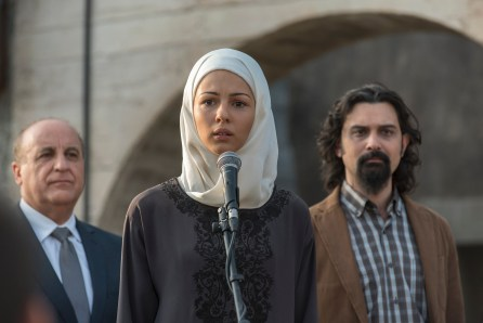 "TYRANT -- ""Two Graves"" -- Episode 310 (Airs Wednesday, September 7, 10:00 pm e/p) Pictured: Annet Mahendru as Nafisa Al-Qadi. CR: Kata Vermes/FX"
