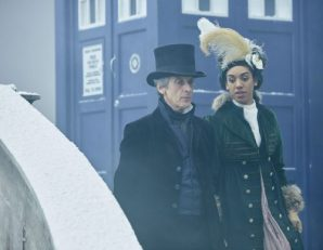 Doctor Who S10 - Episode 3: Thin Ice - The Doctor (PETER CAPALDI), Bill (PEARL MACKIE) - (C) BBC - Photo by Simon Ridgway