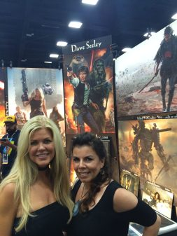 Rogue Warrior cast SDCC 7-22-16