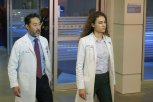 "CHICAGO MED -- ""Love Hurts"" Episode 223 -- Pictured: (l-r) Kenneth Choi as David Kwon, Rachel DiPillo as Sarah Reese -- (Photo by: Elizabeth Morris/NBC)"