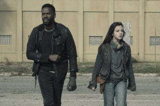 Colman Domingo as Victor Strand, Alexa Nisenson as Charlie- Fear the Walking Dead _ Season 5, Episode 1 - Photo Credit: Ryan Green/AMC