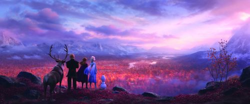Don't Run Into Fire Trailer: Frozen 2!