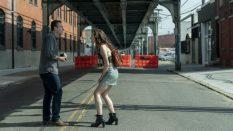Jason Segel as Peter, Eve Lindley as Simone - Dispatches from Elsewhere _ Season 1 - Photo Credit: Jessica Kourkounis/AMC