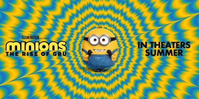 Universal Undates Minions: The Rise of Gru!