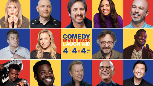 AXS TV TO BROADCAST THE STAR-STUDDEDCOMEDY GIVES BACKLAUGH AIDBENEFIT EVENT!