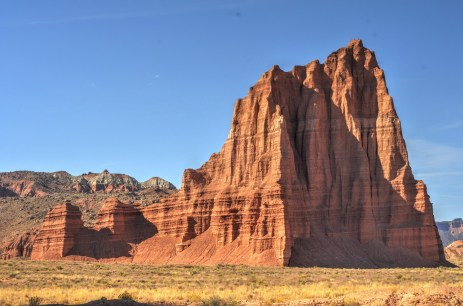 Capitol Reef National Park - Cathedral Valley - Temple of the Sun