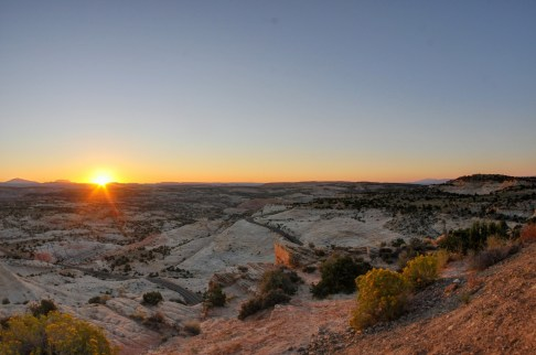 Escalante Grand Staircase National Monument, sunrise