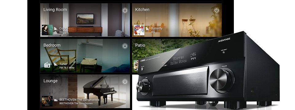 multi-room audio home theater