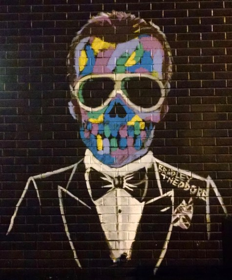 Bradley Theodore, 2015, NYC, image taken by author