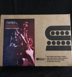 seymour duncan jimi hendrix signature reverse loaded pickguard 1968 strat pickups eclectic sounds [ 1600 x 1600 Pixel ]