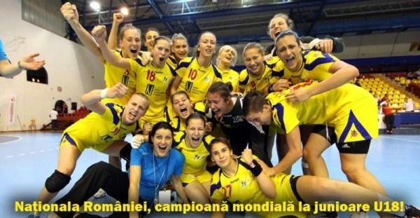 romania U18 handbal feminin