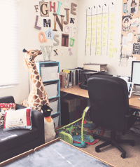 Ever Clever Mom - Work at Home: Playroom in the Office ...