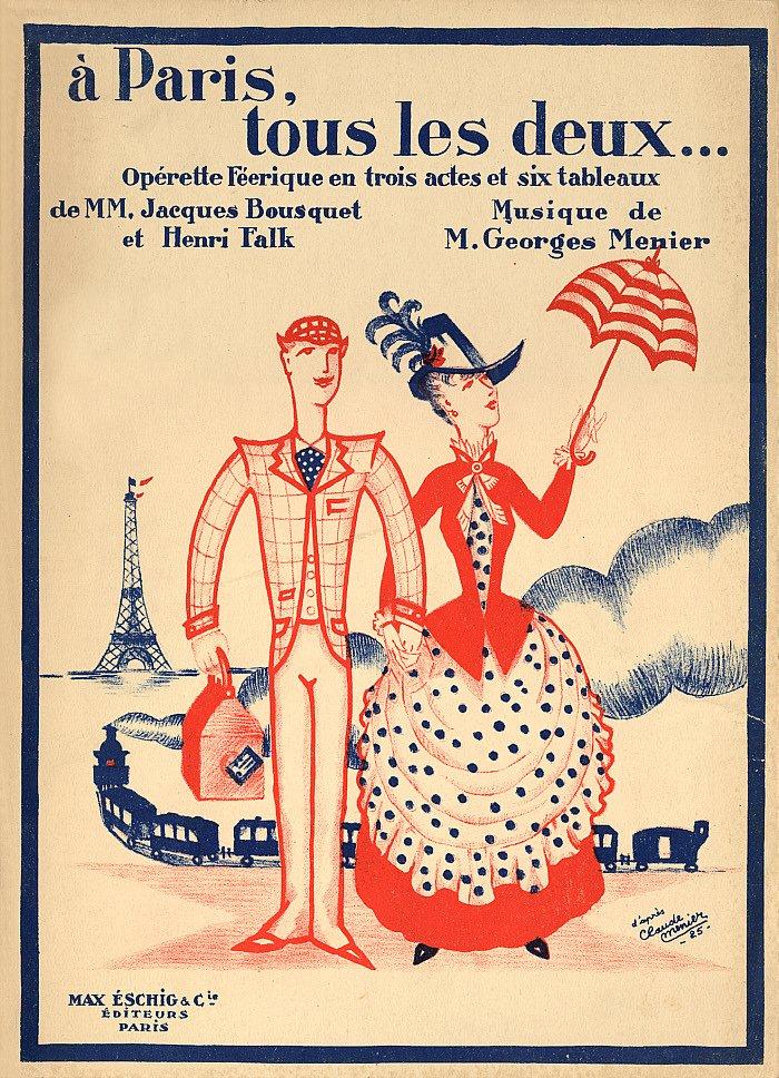 Tout Les Deux Ou Tous Les Deux : (1918-1944), Paris, Deux