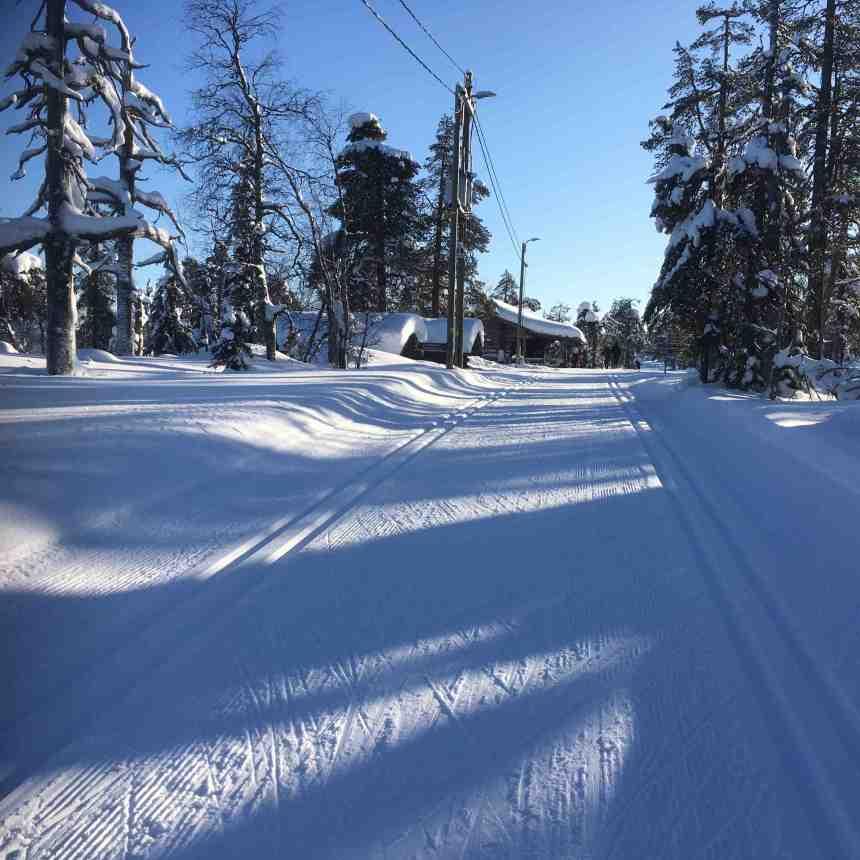 luosto-skitrack