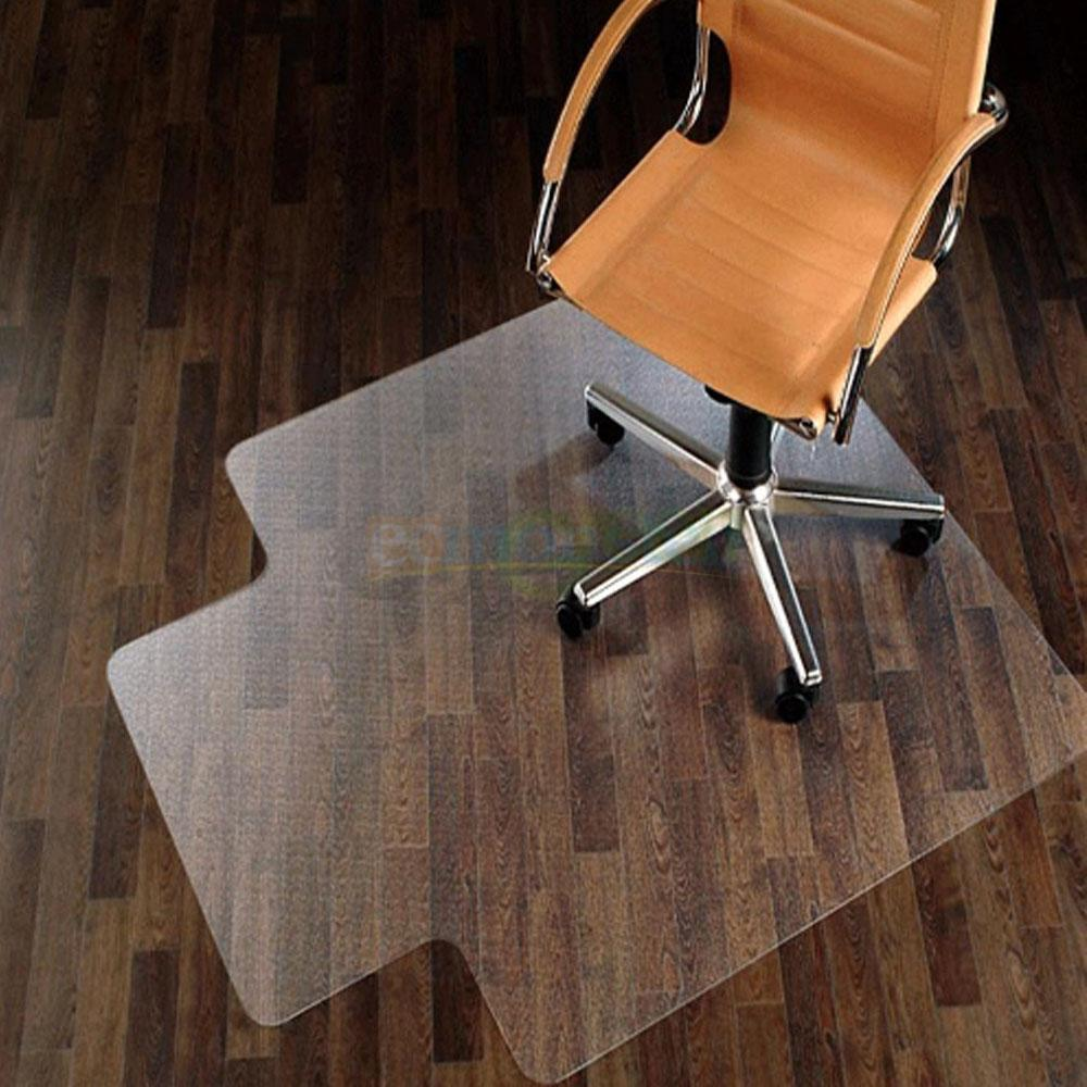New 48 x 36 PVC Home Office Chair Floor Mat for Wood