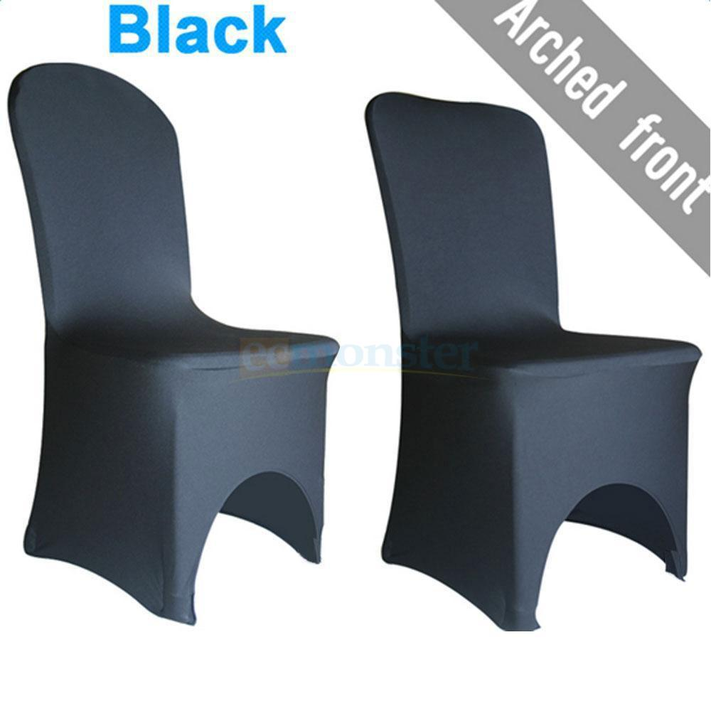 stretch chair covers for hire pretoria 50 100pcs lycra spandex wedding party event banquet black