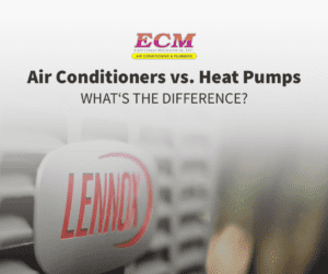 air conditioners vs heat pumps