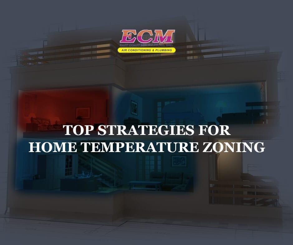 home temperature zoning strategies
