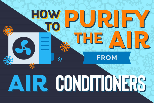 How to purify air from air conditioners