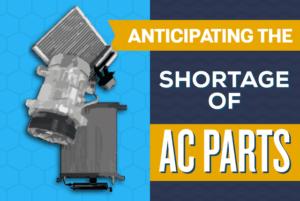 Shortage of AC parts