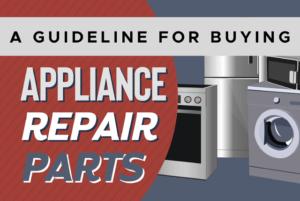appliance repair parts