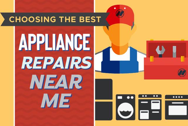 appliance repairs near me