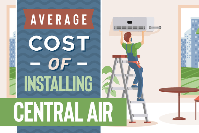 average cost to install central air