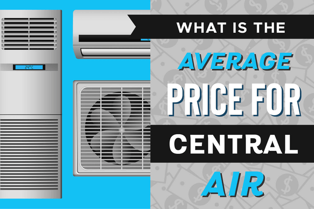 average price for central air