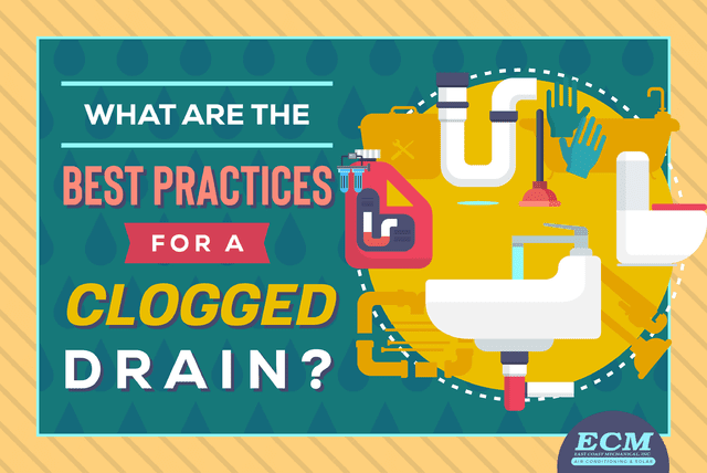 clogged drain clearing best practices